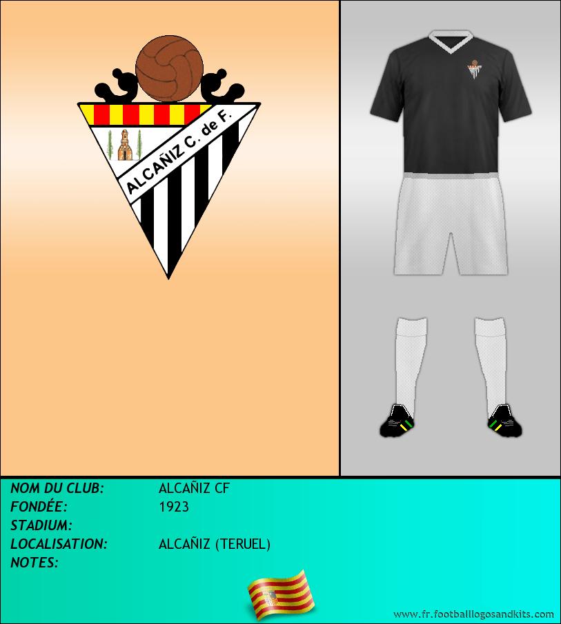 Logo de ALCAÑIZ CF