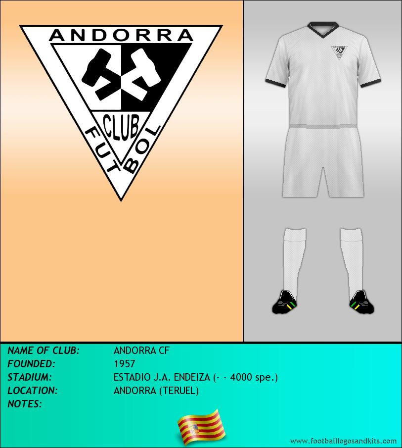 Logo of ANDORRA CF