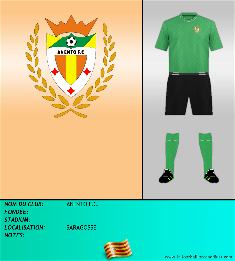 Logo de ANENTO F.C.