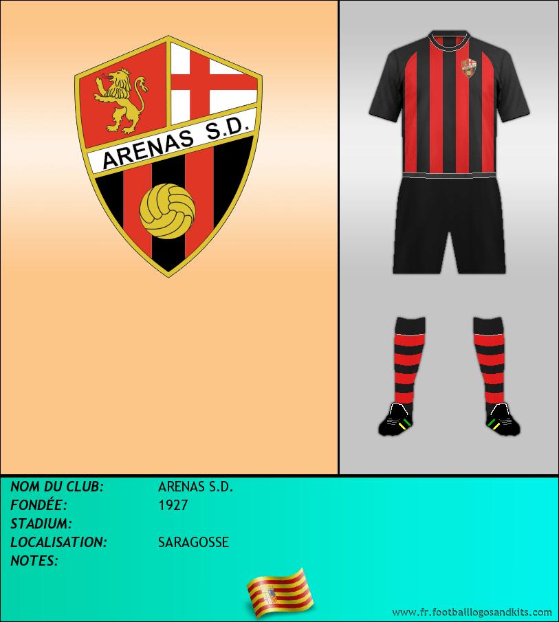Logo de ARENAS S.D.