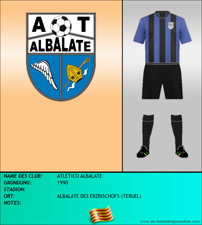 Logo ATLÉTICO ALBALATE