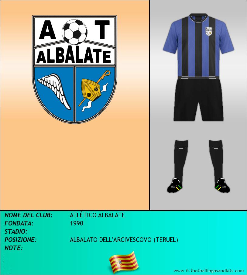 Logo di ATLÉTICO ALBALATE