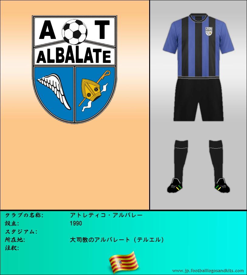 のロゴ運動 ALBALATE