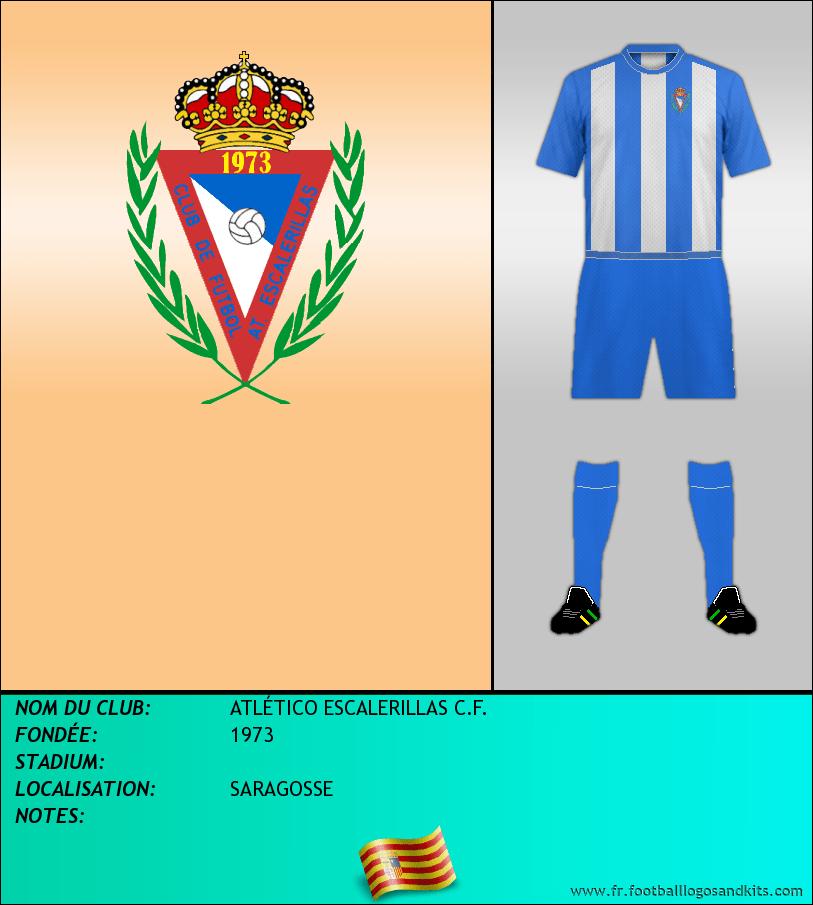 Logo de ATLÉTICO ESCALERILLAS C.F.