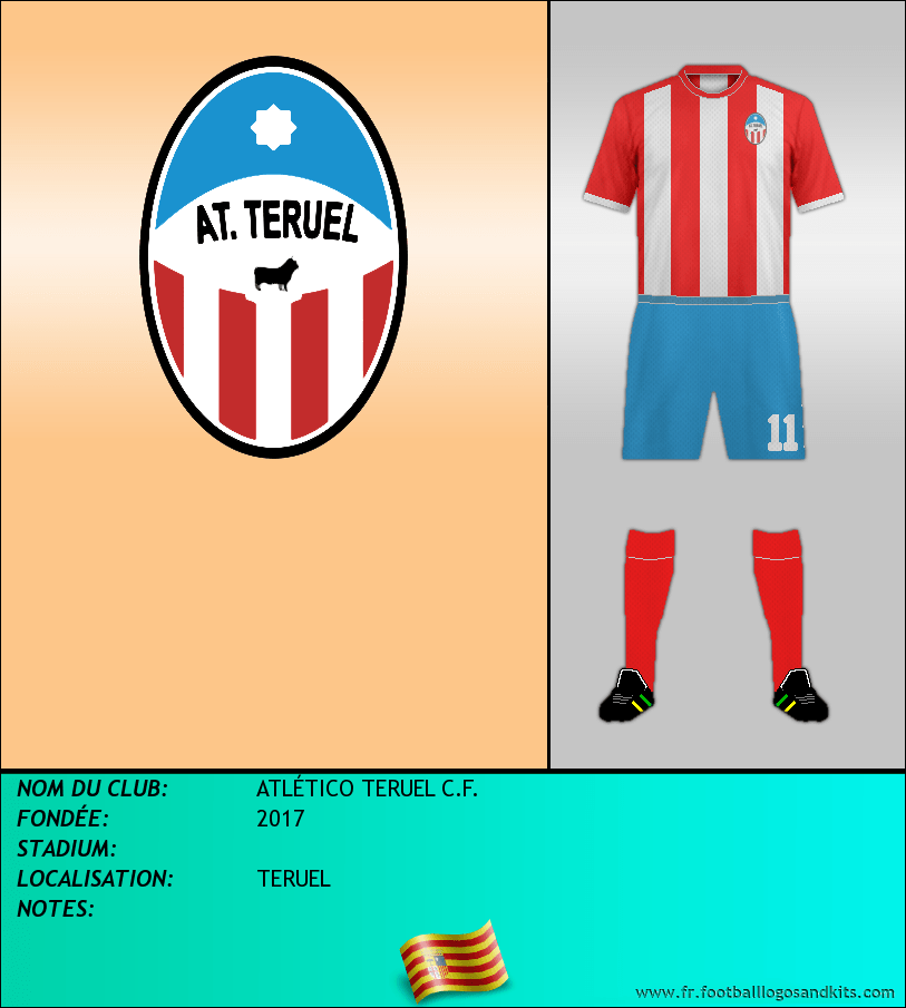 Logo de ATLÉTICO TERUEL C.F.