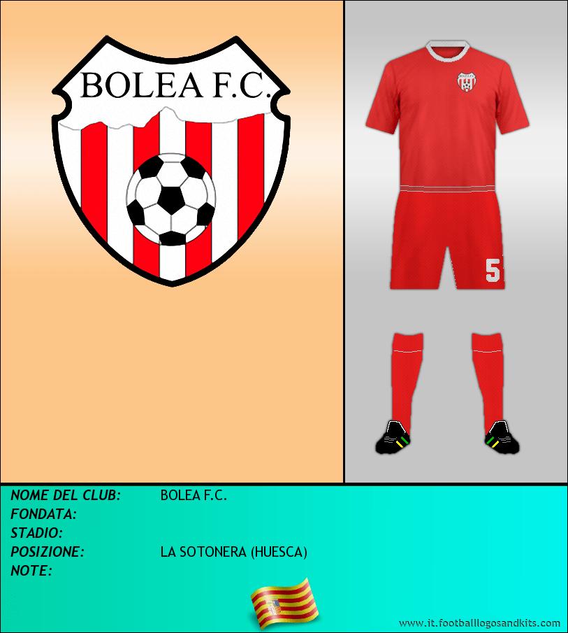 Logo di BOLEA F.C.