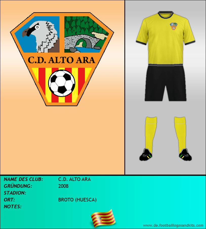 Logo C.D. ALTO ARA