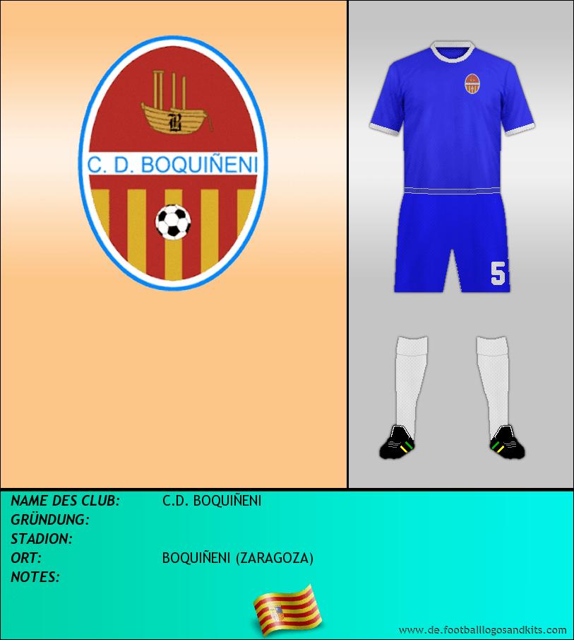 Logo C.D. BOQUIÑENI