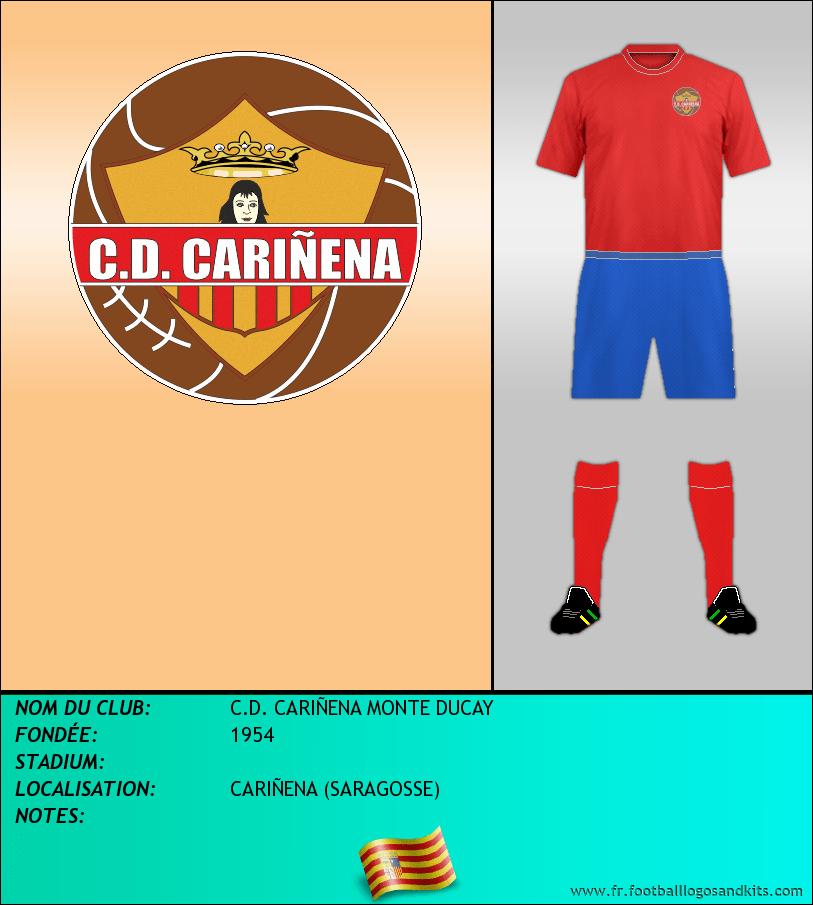 Logo de C.D. CARIÑENA MONTE DUCAY