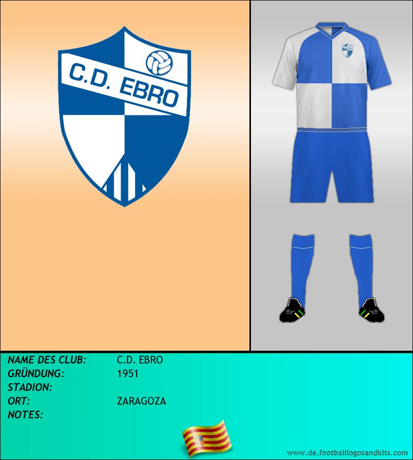 Logo C.D. EBRO
