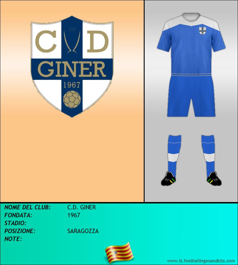 Logo di C.D. GINER