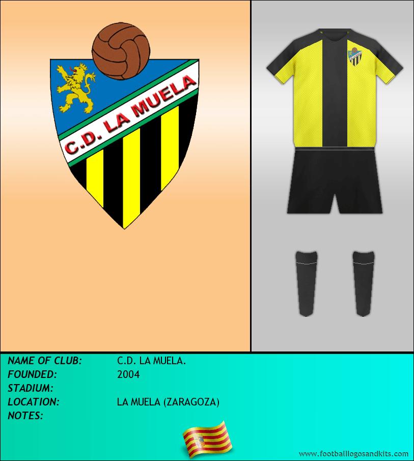 Logo of C.D. LA MUELA.