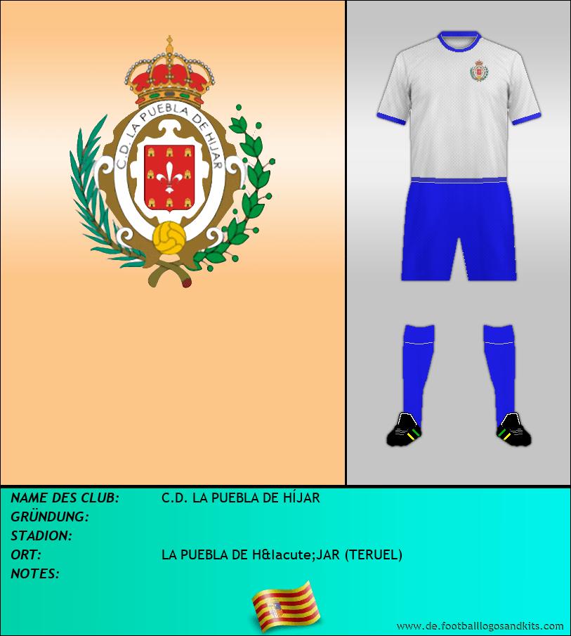 Logo C.D. LA PUEBLA DE HÍJAR