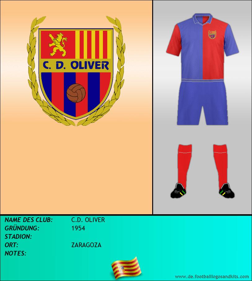 Logo C.D. OLIVER