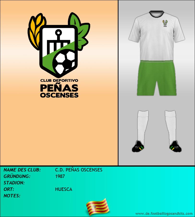 Logo C.D. PEÑAS OSCENSES
