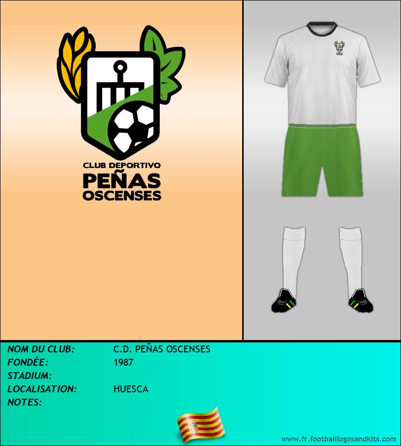 Logo de C.D. PEÑAS OSCENSES