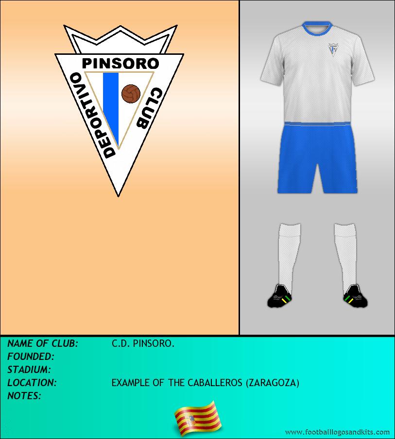 Logo of C.D. PINSORO.