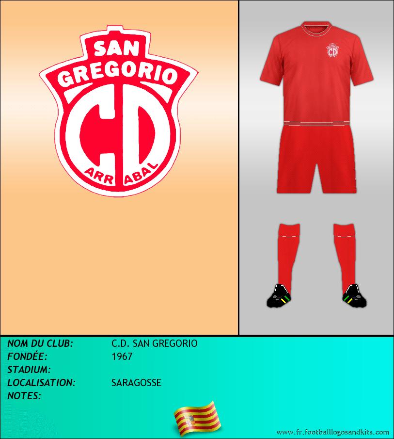 Logo de C.D. SAN GREGORIO
