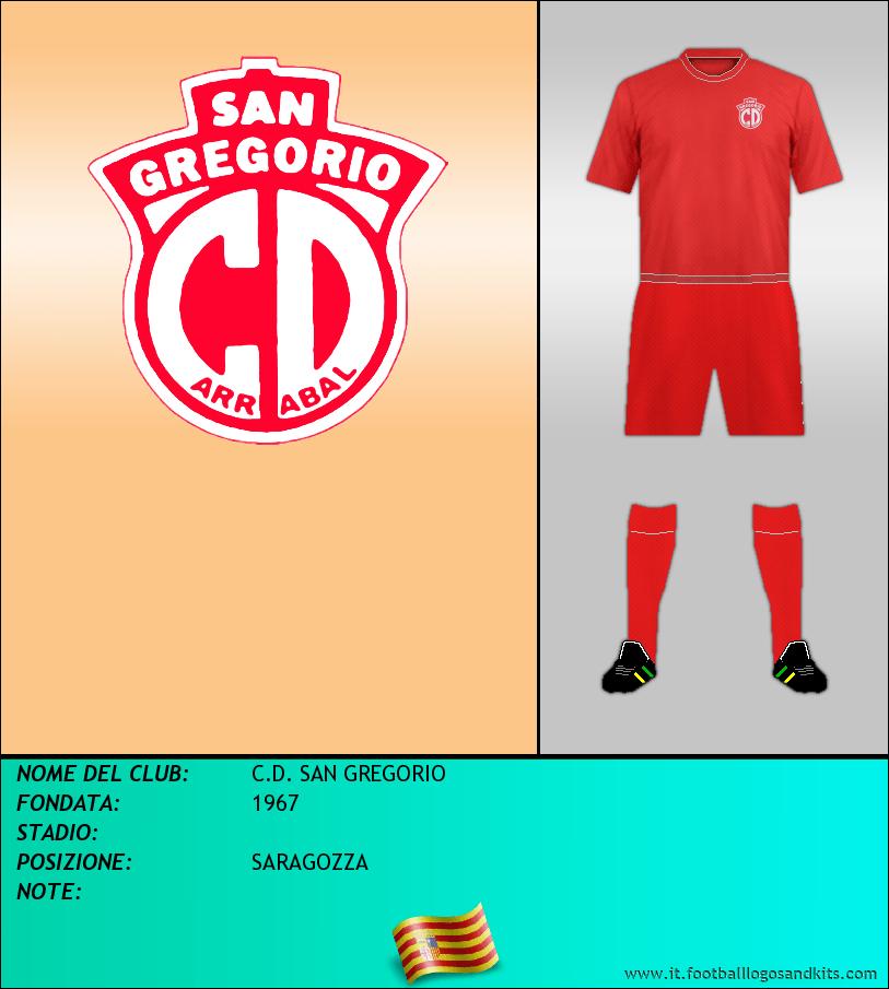 Logo di C.D. SAN GREGORIO