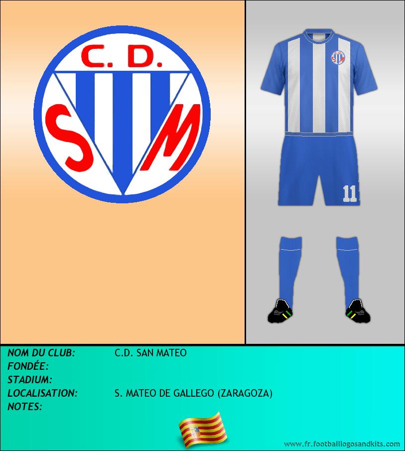 Logo de C.D. SAN MATEO
