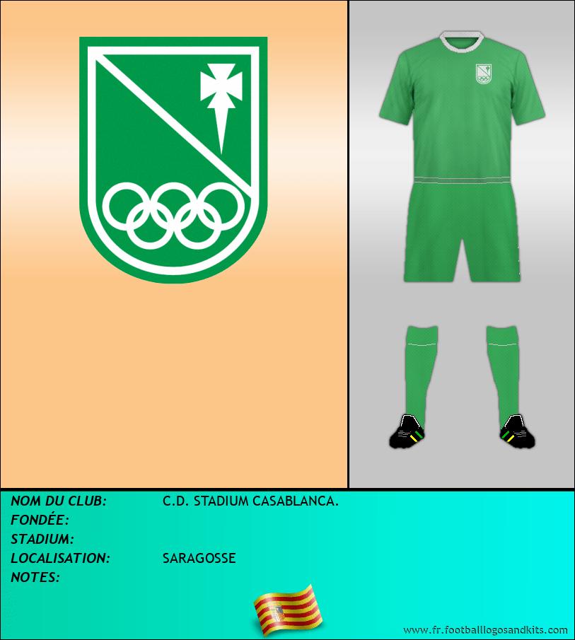 Logo de C.D. STADIUM CASABLANCA.