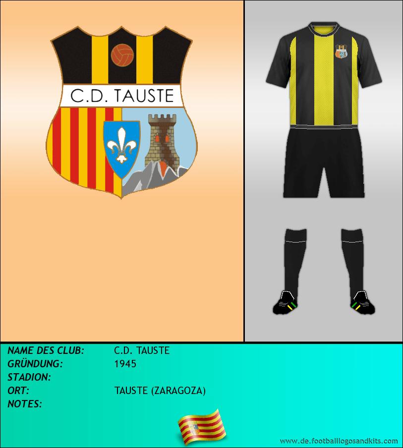 Logo C.D. TAUSTE