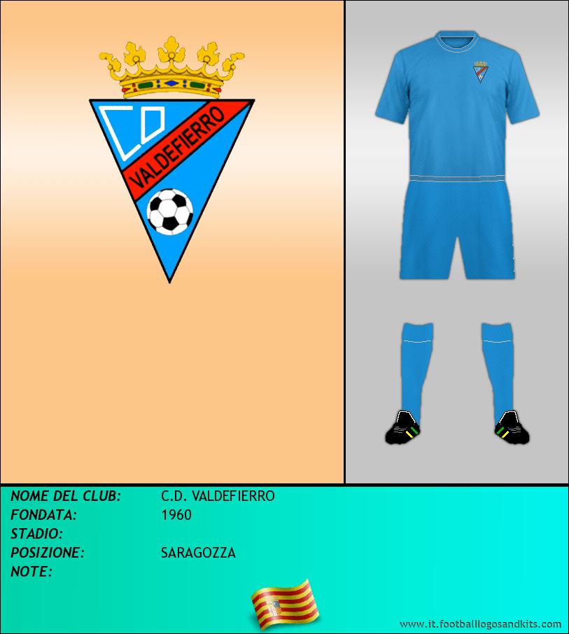 Logo di C.D. VALDEFIERRO