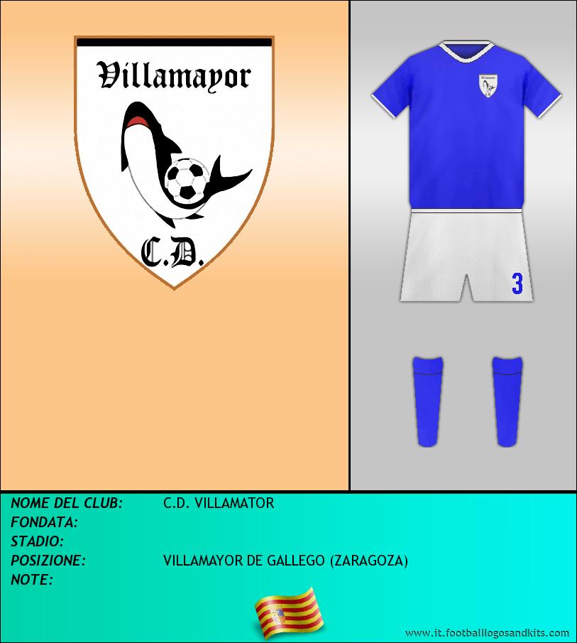 Logo di C.D. VILLAMATOR