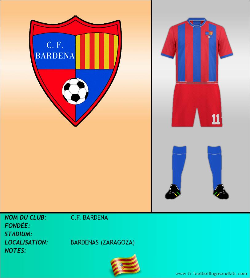 Logo de C.F. BARDENA