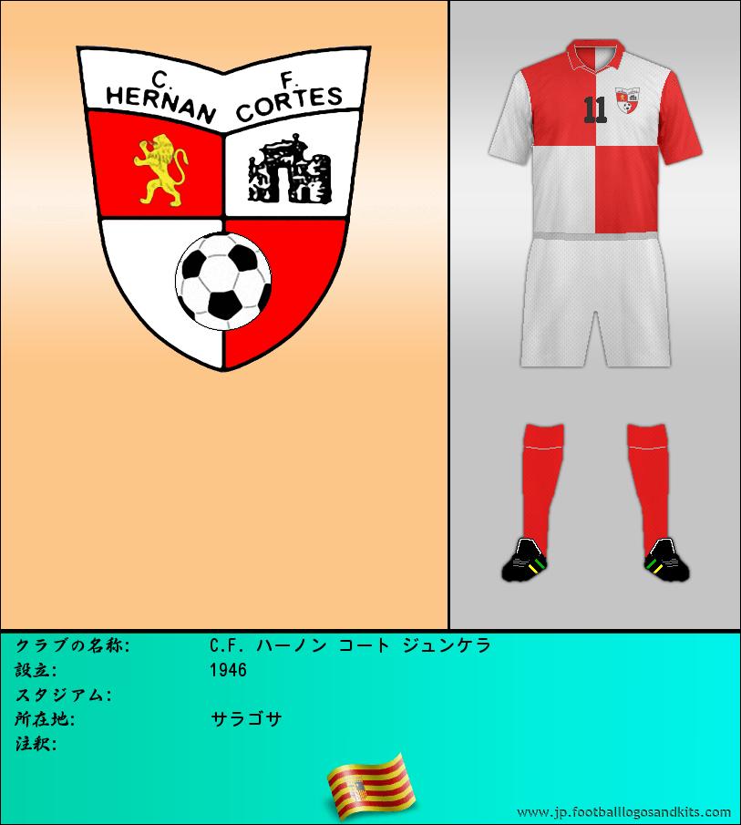 のロゴC. F. HERNÁN CORTÉS シュンケイラ