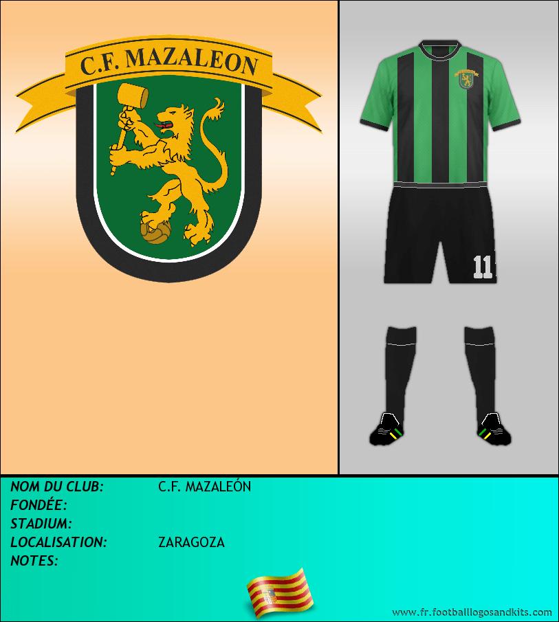 Logo de C.F. MAZALEÓN