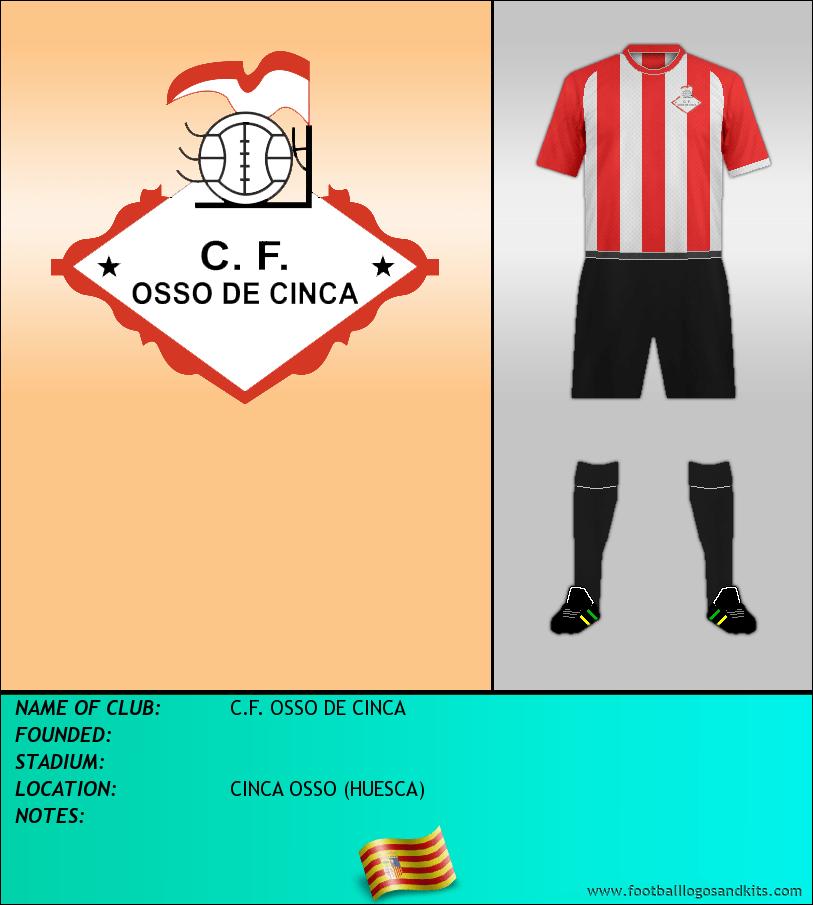 Logo of C.F. OSSO DE CINCA