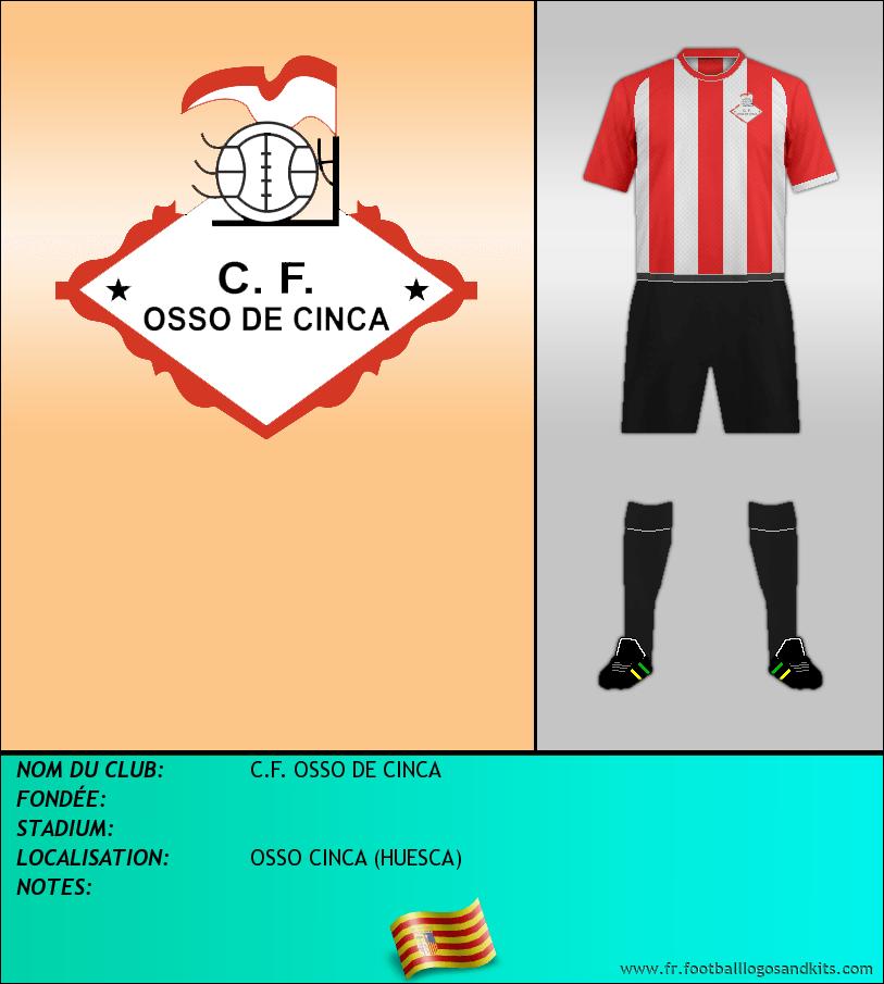 Logo de C.F. OSSO DE CINCA