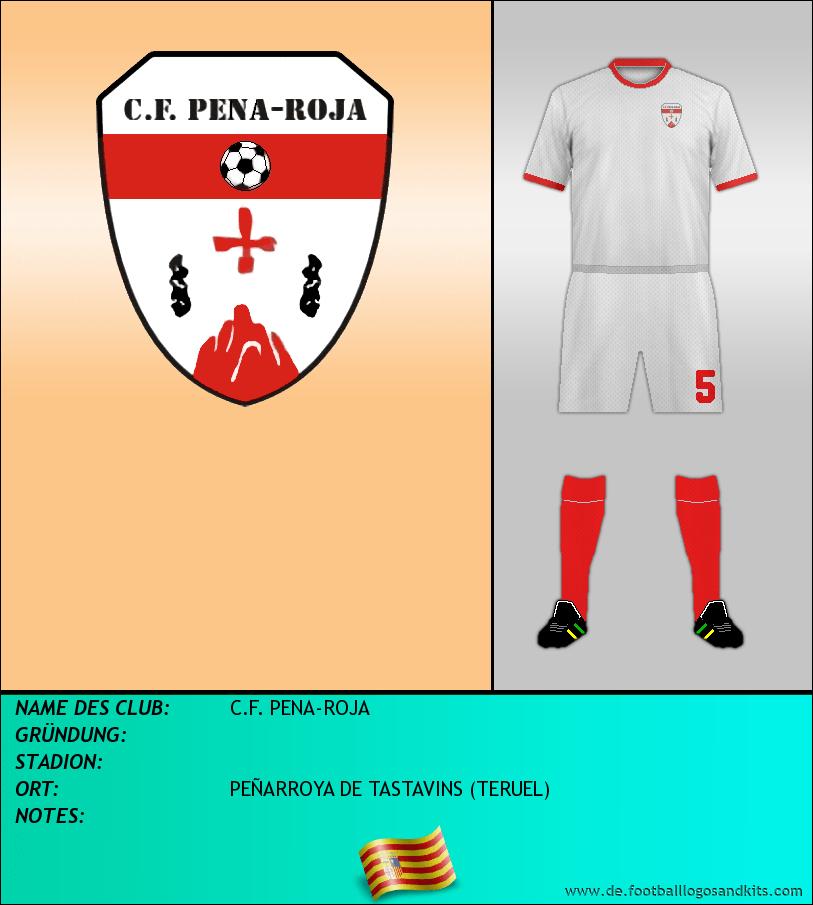 Logo C.F. PENA-ROJA