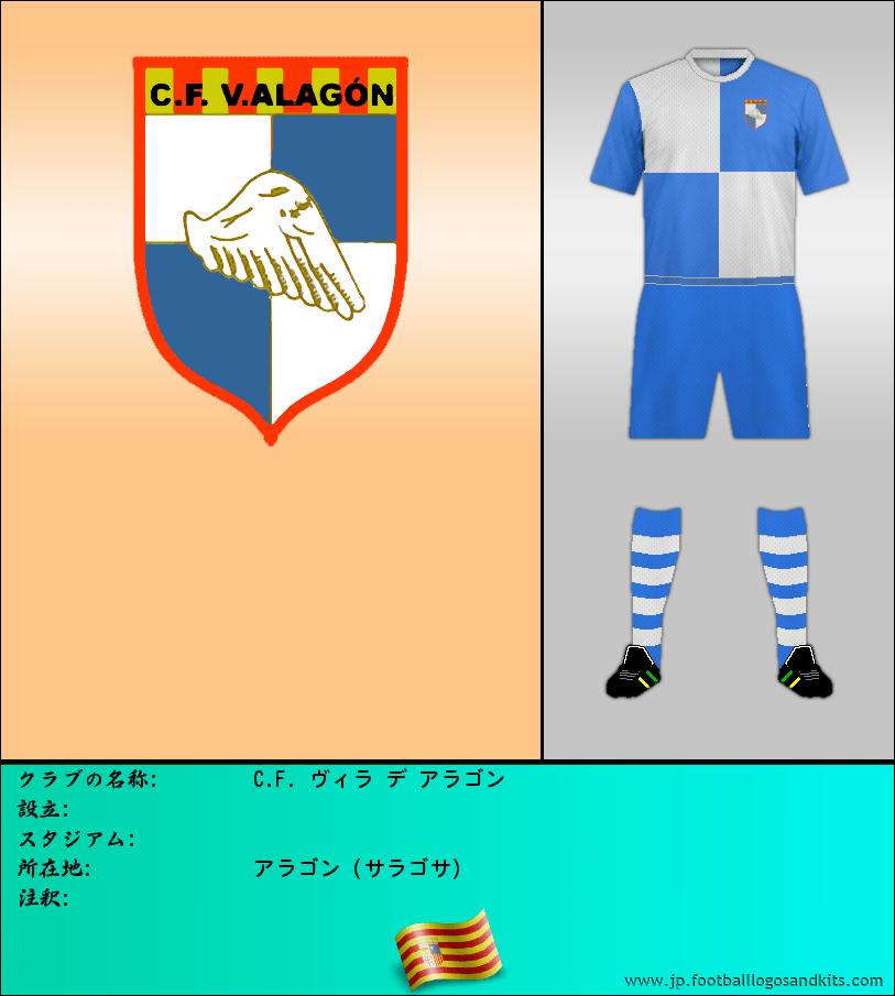 のロゴC. F. VILLA DE ALAGÓN