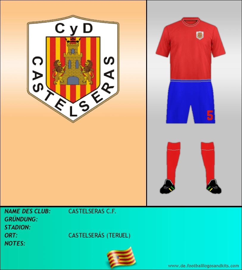 Logo CASTELSERAS C.F.