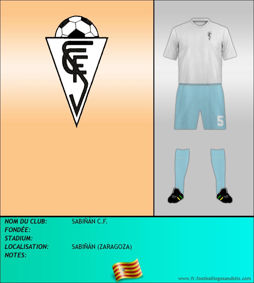 Logo de SABIÑÁN C.F.