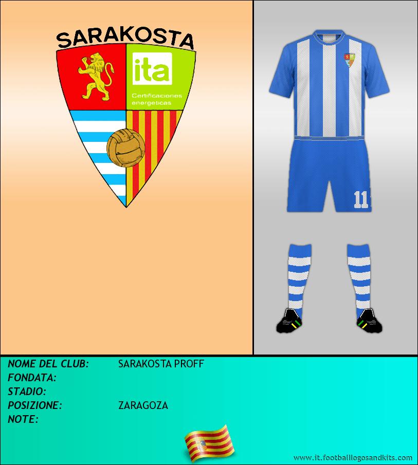 Logo di SARAKOSTA PROFF