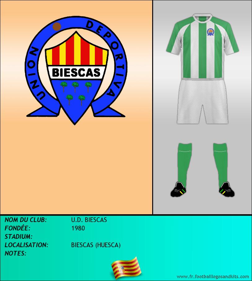 Logo de U.D. BIESCAS