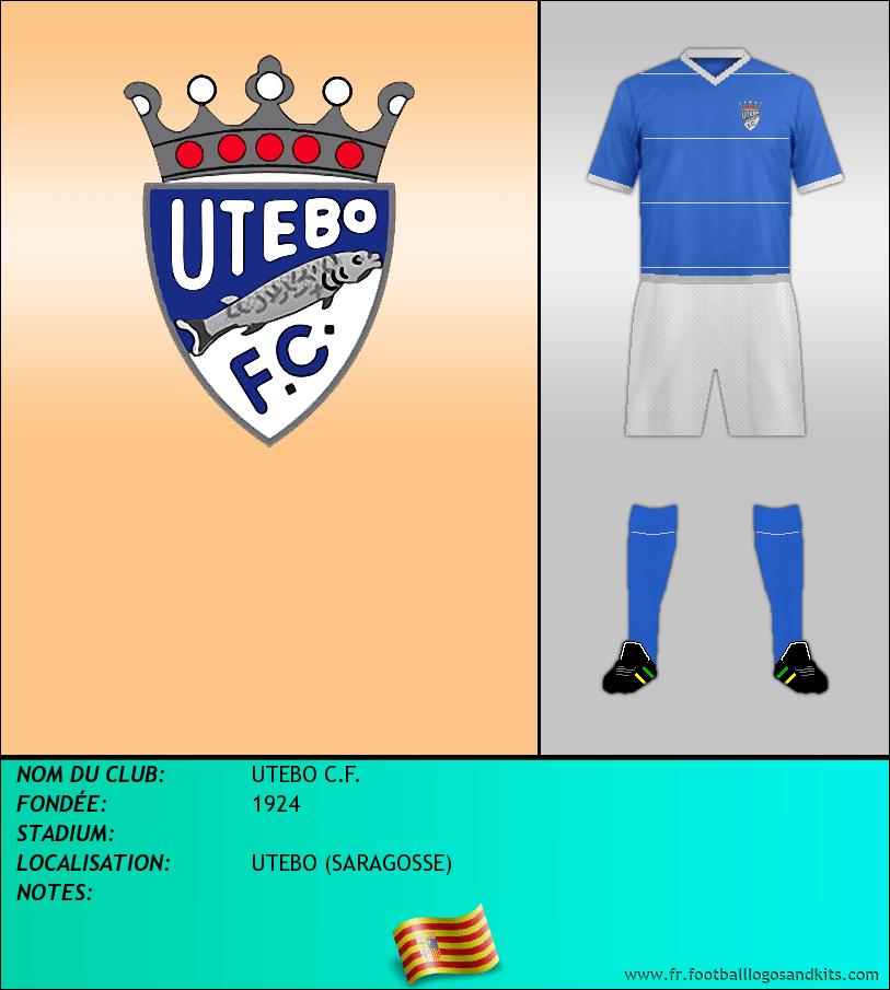 Logo de UTEBO C.F.