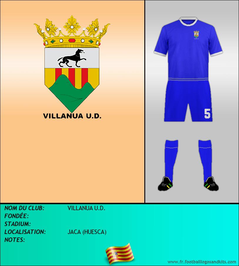Logo de VILLANUA U.D.