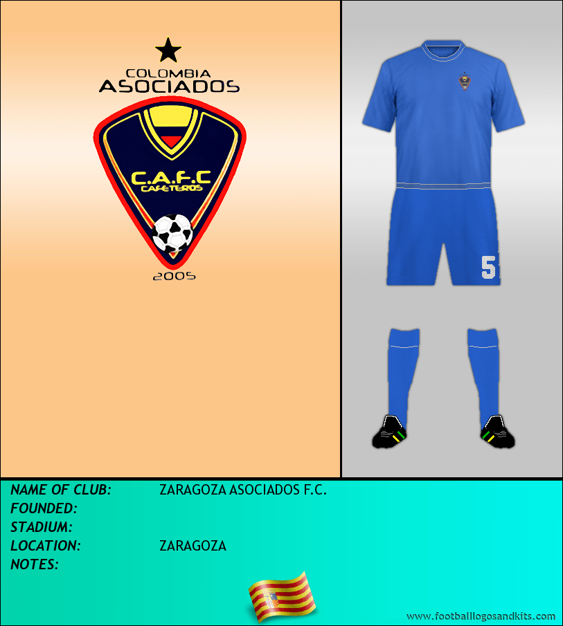 Logo of ZARAGOZA ASOCIADOS F.C.