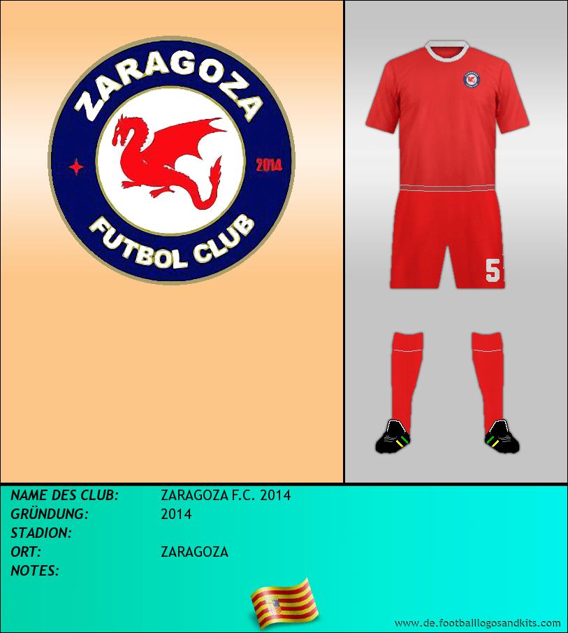 Logo ZARAGOZA F.C. 2014