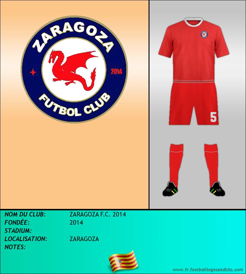 Logo de ZARAGOZA F.C. 2014