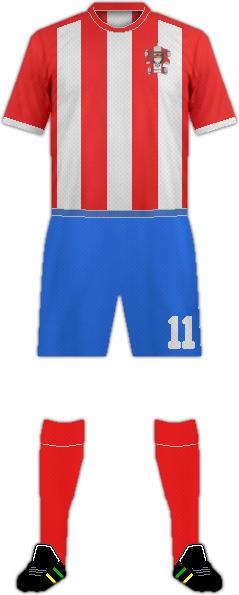 Kit ARGUERO C.F.