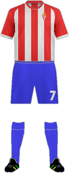 Kit REAL SPORTING DE GIJÓN