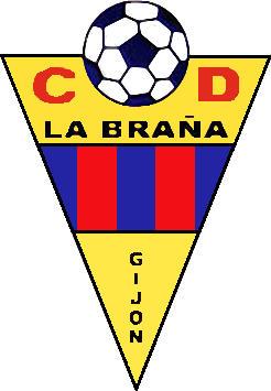 Logo of C.D. LA BRAÑA (ASTURIAS)