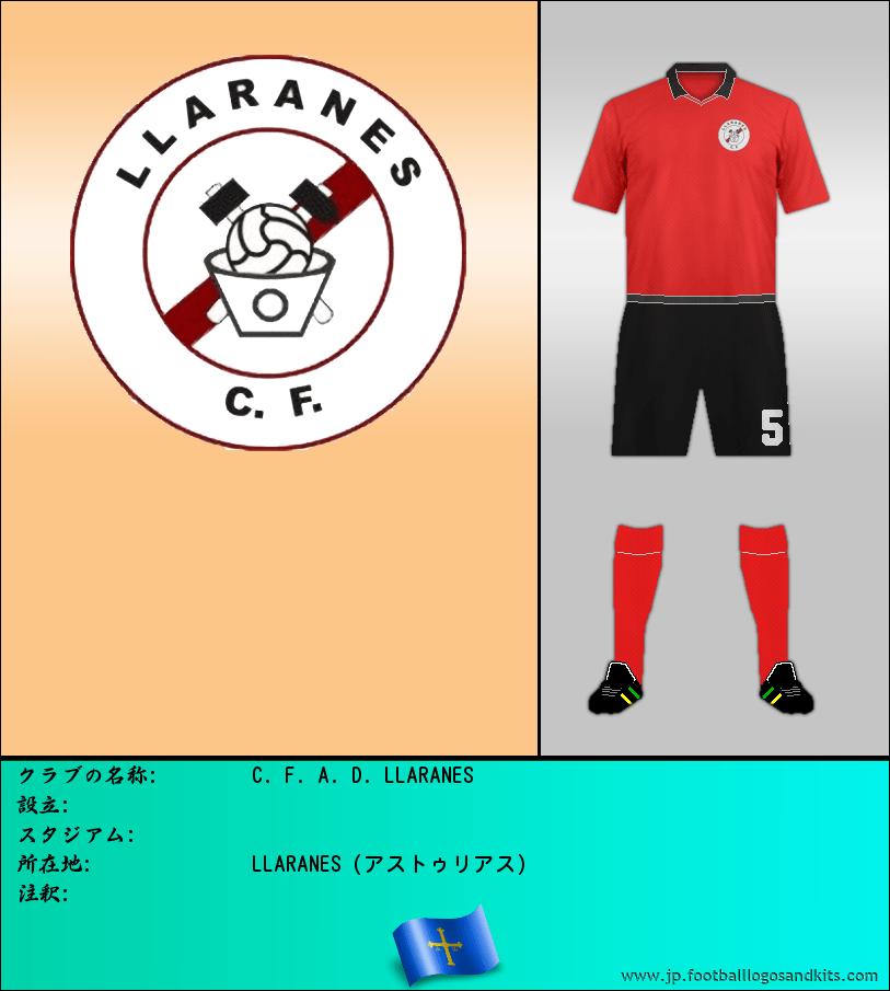 のロゴC. F. A. D. LLARANES