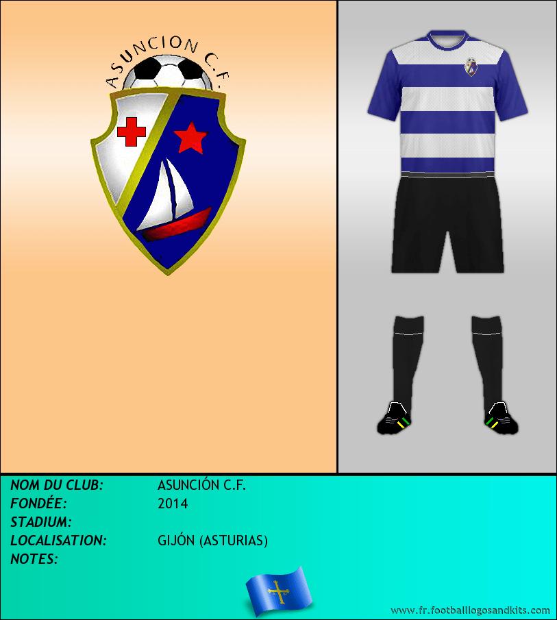 Logo de ASUNCIÓN C.F.