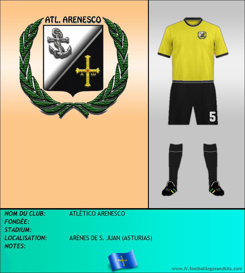Logo de ATLÉTICO ARENESCO